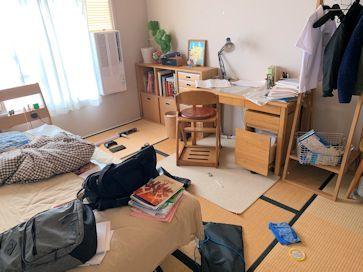 中学生用片付けやすいお部屋。_f0293254_15093475.jpg