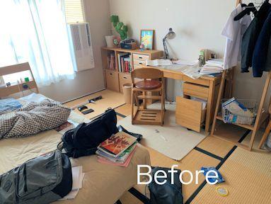 中学生用片付けやすいお部屋。_f0293254_15445304.jpg