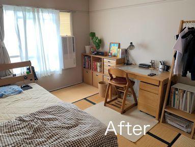 中学生用片付けやすいお部屋。_f0293254_15445968.jpg