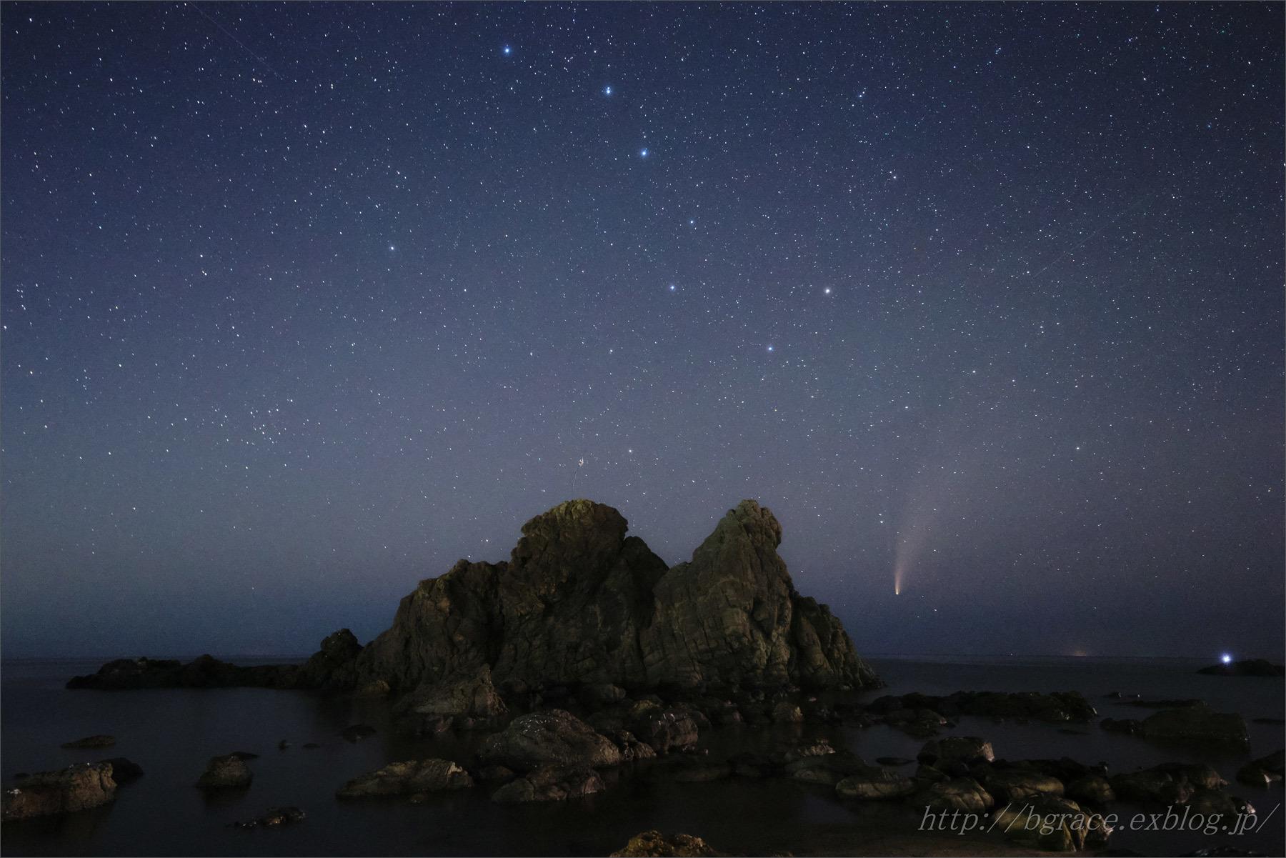 ネオワイズ彗星 (C/2020F3) 7月19日 山形県 Vol.3_b0191074_20294004.jpg