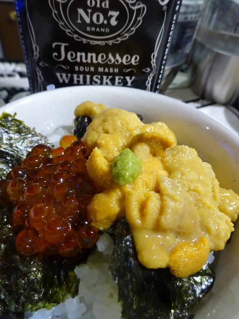 アメリカカブレかもろ日本人か分からぬ食卓 123 うに丼+Икра_d0061678_13341572.jpg
