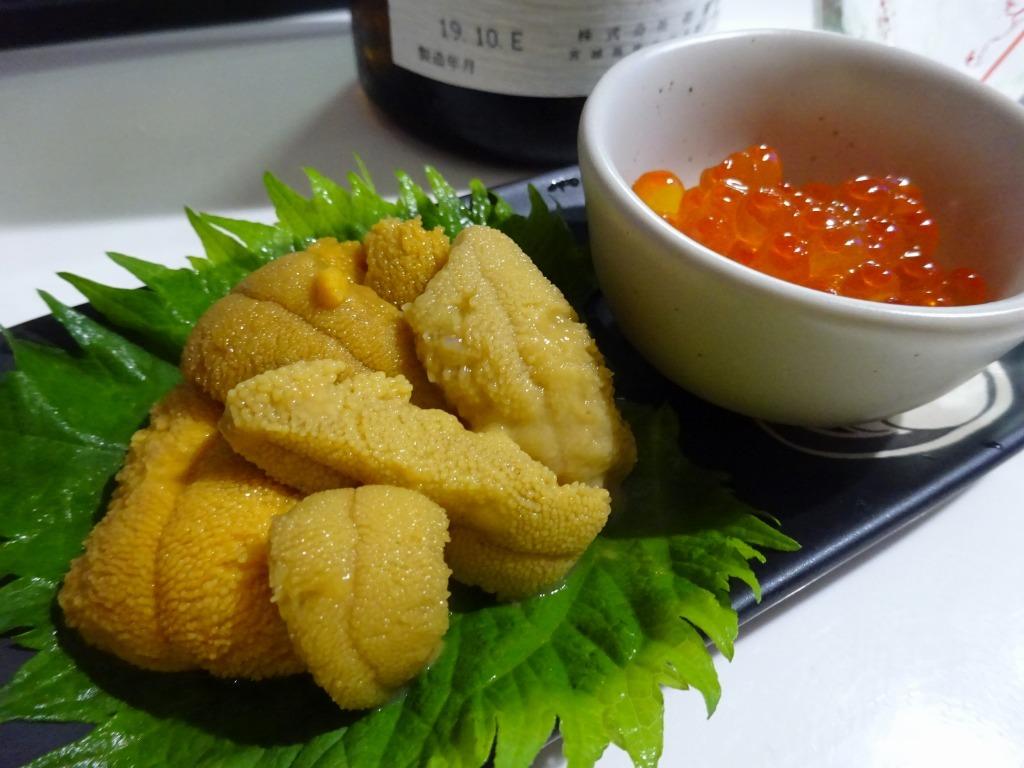 アメリカカブレかもろ日本人か分からぬ食卓 123 うに丼+Икра_d0061678_13353952.jpg