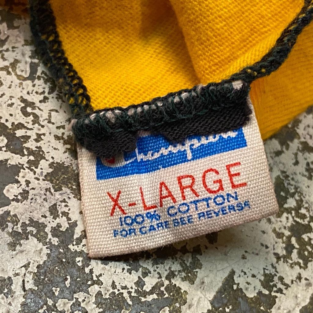 7月29日(水)マグネッツ大阪店ヴィンテージTシャツラボ入荷!! #1 Champion & Russell編! RunnersTag,BlueBarTag!!_c0078587_17502542.jpg