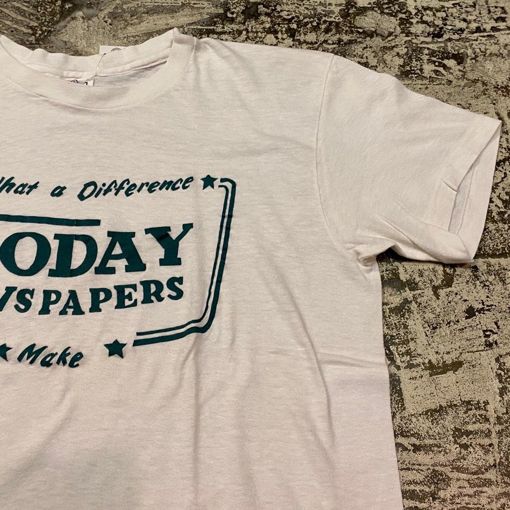7月29日(水)マグネッツ大阪店ヴィンテージTシャツラボ入荷!! #3 MIX編!60\'s~70\'s Vintage T-Shirt!!_c0078587_18204739.jpg