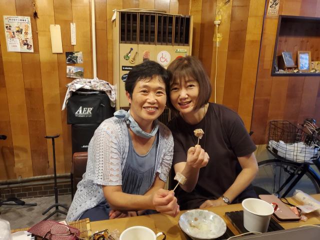 京都から中学同級女子がやってきて「猫町文庫」でランチ。_a0334793_21265107.jpg