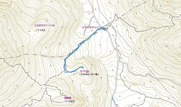 由布岳のへべ山  2020.07.25(土)_a0166196_9332925.jpg