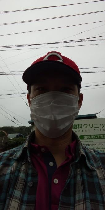 本日もアベノマスクよりコンビニのマスクで介護現場に出勤です!_e0094315_07430367.jpg