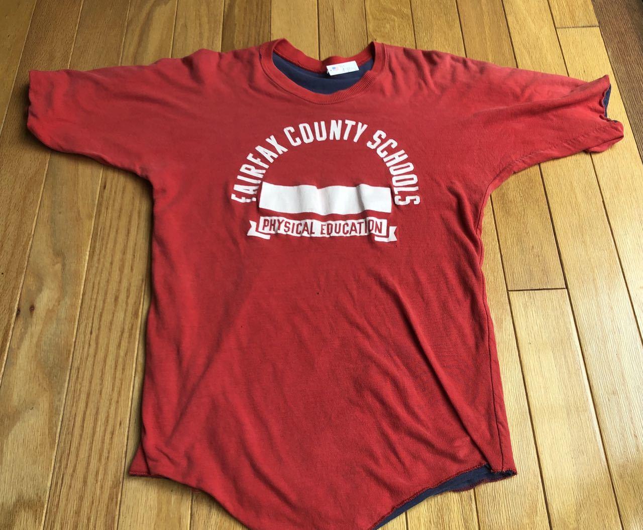 7月27日(月)入荷! 70s〜 all cotton ラッセル? UNKNOWN リバーシルブル Tシャツ_c0144020_13170606.jpg
