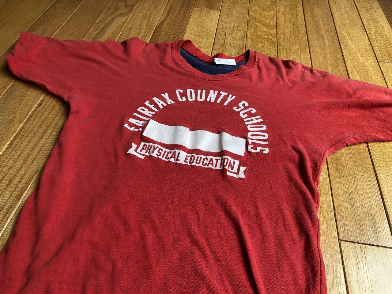 7月27日(月)入荷! 70s〜 all cotton ラッセル? UNKNOWN リバーシルブル Tシャツ_c0144020_13170718.jpg