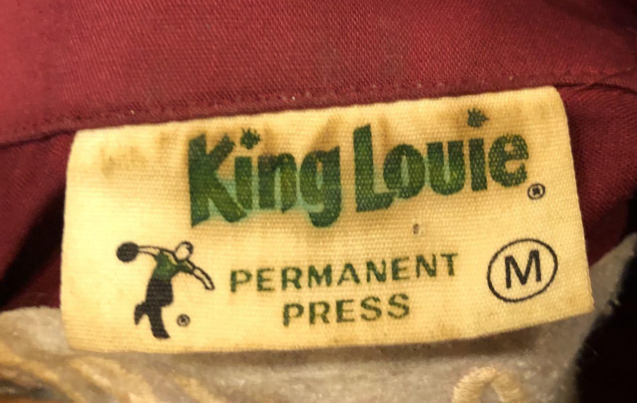 7月27日(月)入荷!70s チェーンステッチ King Louie ボーリングシャツ!_c0144020_13202875.jpg