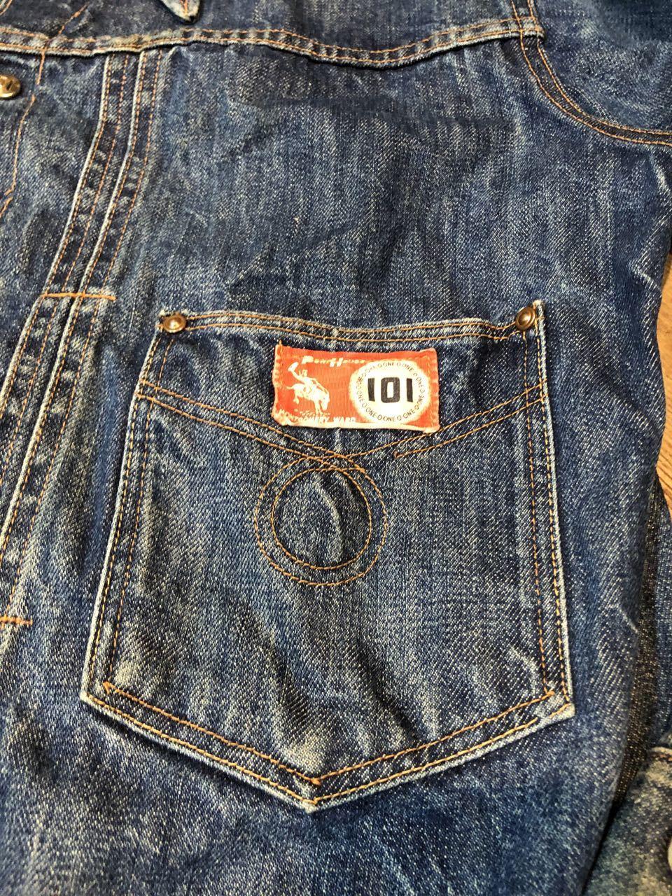 7月27日(月)入荷!60s mongomeryward モンゴメリーワード 101 denim Jacket!_c0144020_14521997.jpg