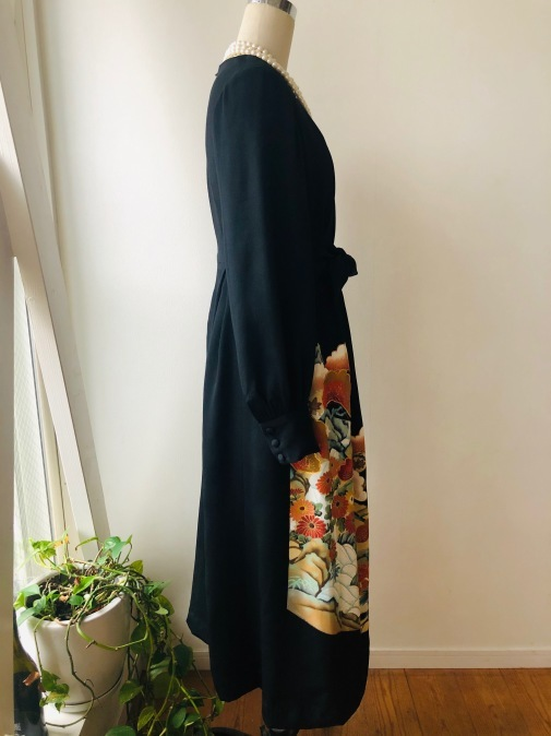 着物リメイク・留袖の着物からロングドレス_d0127925_11544483.jpg