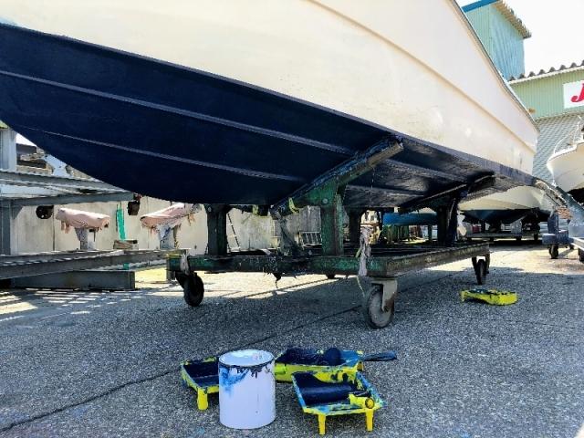 船底の清掃と青色塗り 年1回_d0091442_23364299.jpg