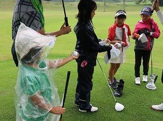 第39回 梶岡建設ジュニアゴルフ月例競技会_f0151251_16380538.jpg