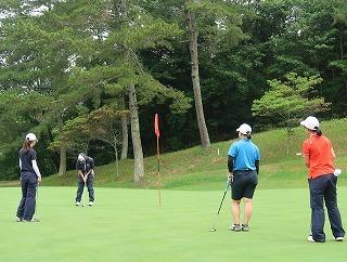 第39回 梶岡建設ジュニアゴルフ月例競技会_f0151251_16381327.jpg