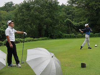 第39回 梶岡建設ジュニアゴルフ月例競技会_f0151251_16381357.jpg