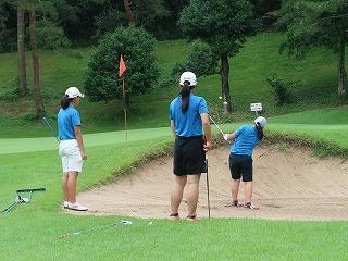 第39回 梶岡建設ジュニアゴルフ月例競技会_f0151251_16381397.jpg