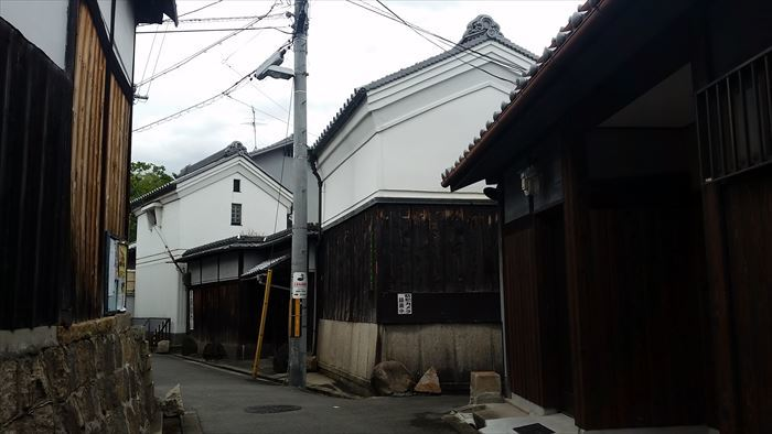 桃谷・彌栄神社門前の町並み_f0139570_18214582.jpg