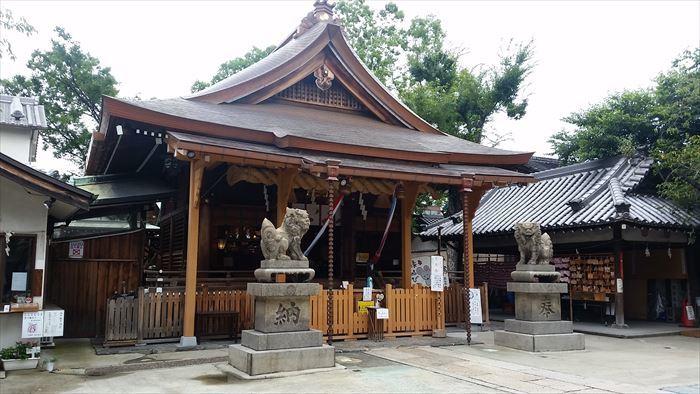 桃谷・彌栄神社門前の町並み_f0139570_18231805.jpg