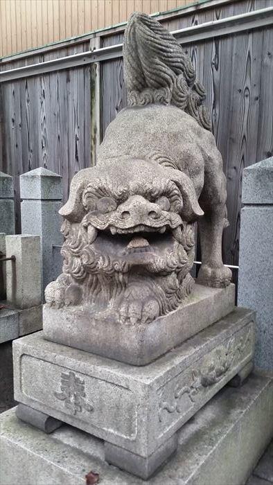 桃谷・彌栄神社門前の町並み_f0139570_18251020.jpg
