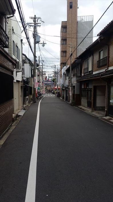 桃谷・彌栄神社門前の町並み_f0139570_18360066.jpg