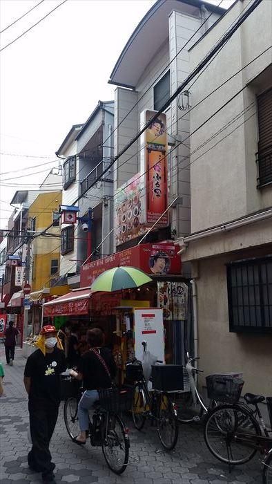 桃谷・彌栄神社門前の町並み_f0139570_18373228.jpg