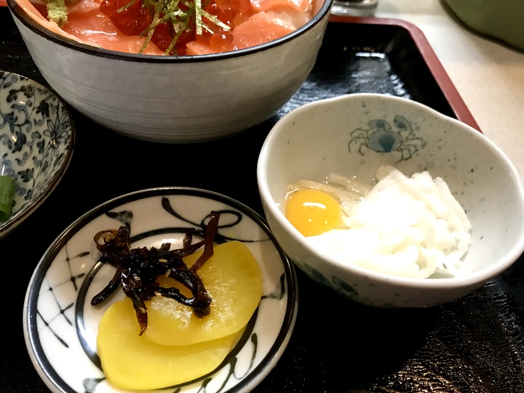鮭イクラ丼@幸喜寿し(立川)_c0212604_14435646.jpg