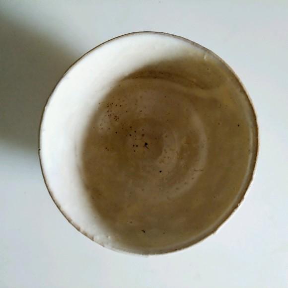 高麗茶碗 2020夏 刷毛目と無地刷毛目茶碗の新作_a0212807_16104384.jpg