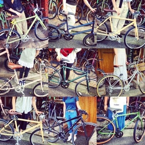 ☆本日のバイシクルガール☆ 自転車女子 自転車ガール ミニベロ クロスバイク ライトウェイ ターン riteway tern シェファード クラッチ ブルーノ おしゃれ自転車 マリン シェファード_b0212032_16274771.jpeg