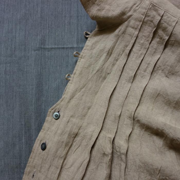 9月の製作 / frenchvictorians jardinier linen shrt _e0130546_17012428.jpg