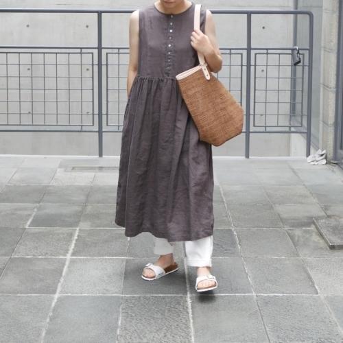 linen sleeveless dress !_e0247148_17442150.jpg
