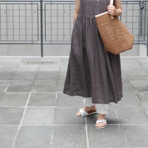 linen sleeveless dress !_e0247148_17442740.jpg