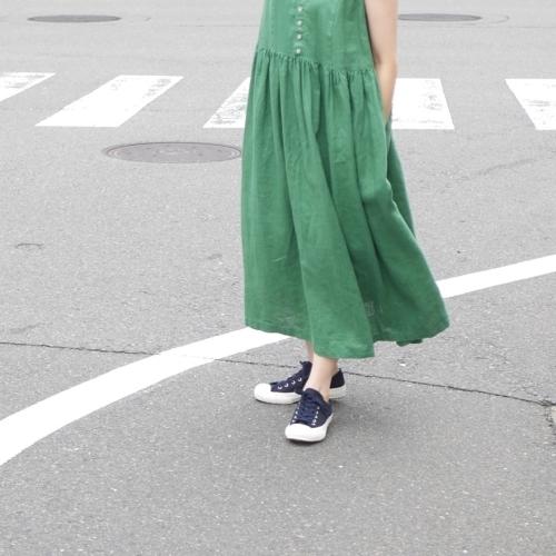 linen sleeveless dress !_e0247148_17444693.jpg