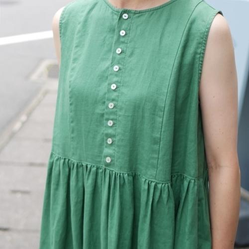 linen sleeveless dress !_e0247148_17445180.jpg