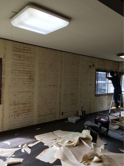 南栄町のクボタハウス棟のリフォーム工事開始しました。_f0115152_09592548.jpg