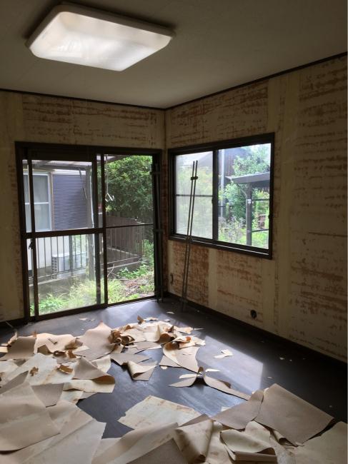 南栄町のクボタハウス棟のリフォーム工事開始しました。_f0115152_09592947.jpg