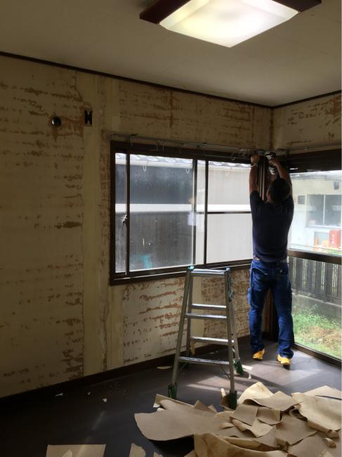 南栄町のクボタハウス棟のリフォーム工事開始しました。_f0115152_09593040.jpg
