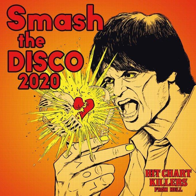"HCK2020R  V.A  HIT CHART KILLERS ""Smash the DISCO2020"" CD _d0028657_10484743.jpg"