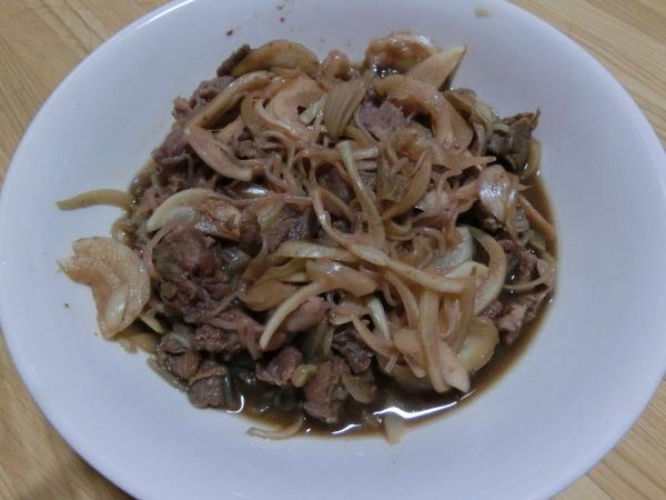 牛丼風煮物(おうちレトルト)_a0391592_16293859.jpg