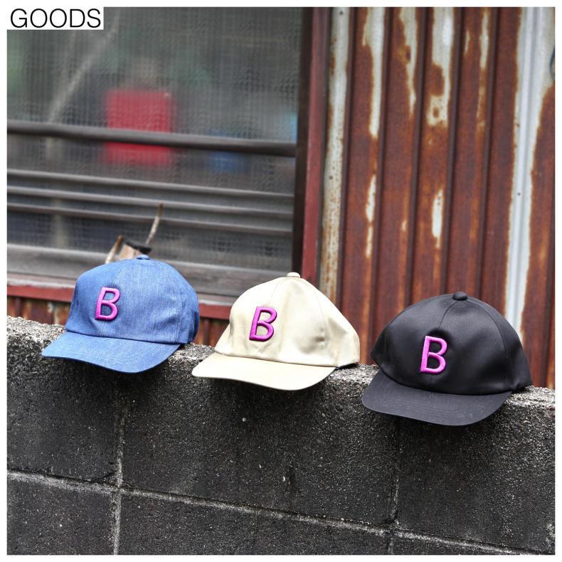 【BOHEMIANS GOODS】B EMB BB CAP_d0000298_13235565.jpg