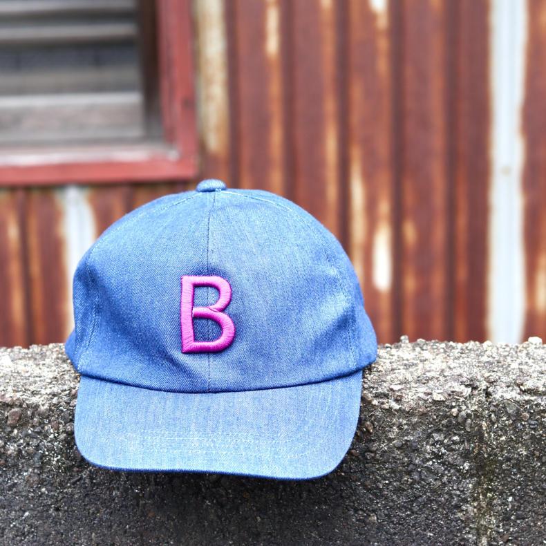 【BOHEMIANS GOODS】B EMB BB CAP_d0000298_13240216.jpg