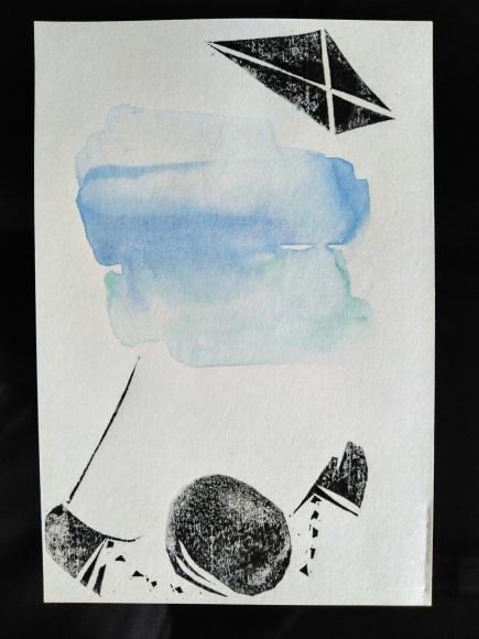 センチメンタルな 青春の記憶(完結編) 木版画_a0212807_20080052.jpg