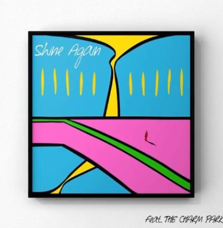 赤い靴の神谷洵平さん自身初ソロアルバムより「Shine Again feat.THE CHARM PARK」デジタルリリース_d0171222_17454955.jpeg