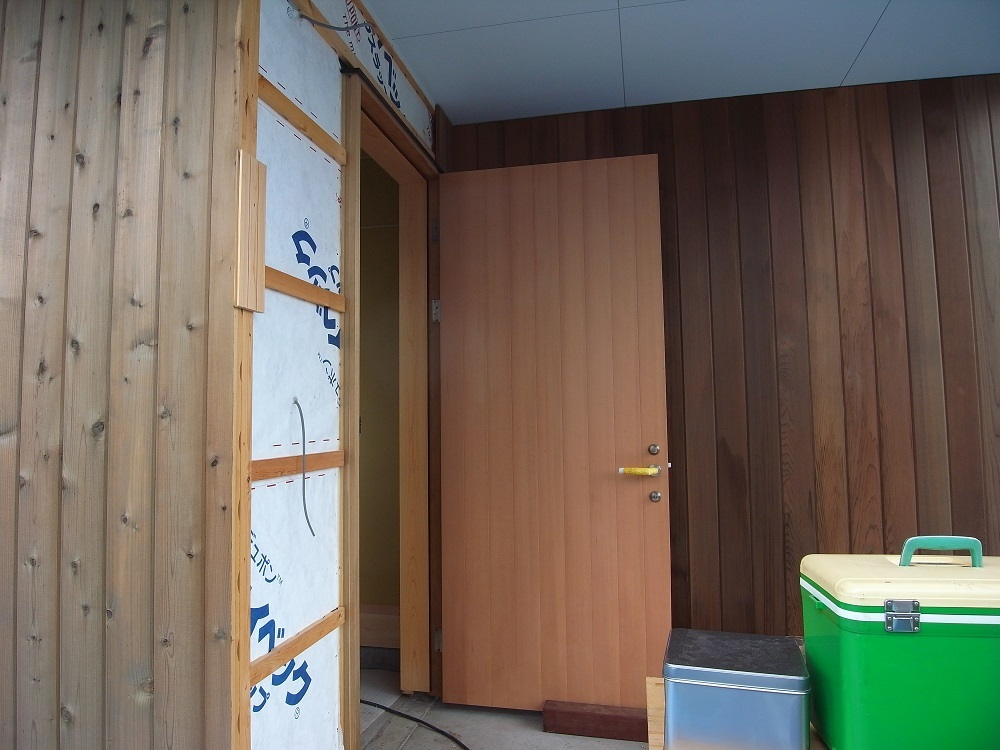 抽ヶ台の家 木工事終盤 2020/7/28_a0039934_15582398.jpg