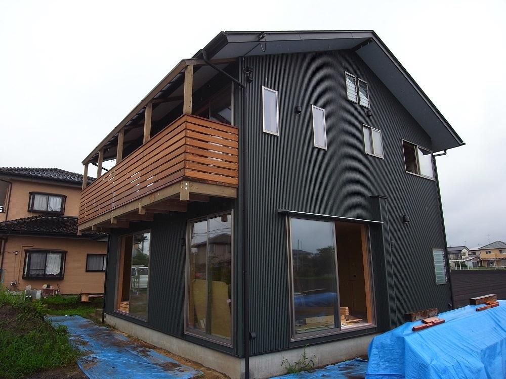 抽ヶ台の家 木工事終盤 2020/7/28_a0039934_15584746.jpg