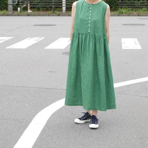 linen sleeveless dress !_e0247148_17322098.jpg