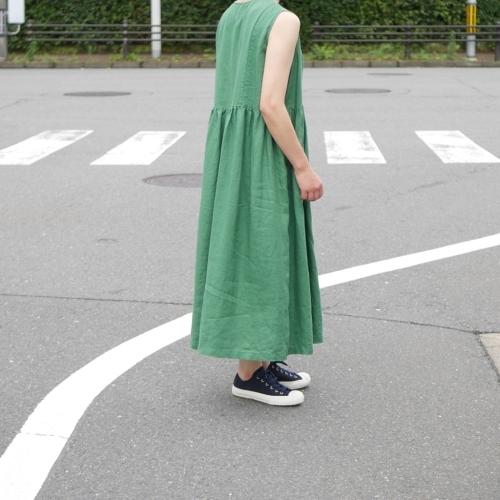 linen sleeveless dress !_e0247148_17322632.jpg