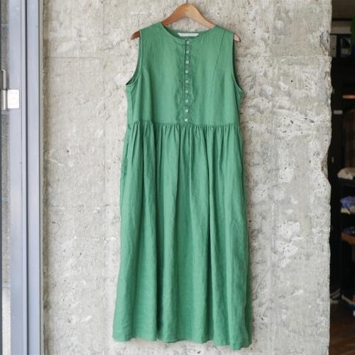 linen sleeveless dress !_e0247148_17323186.jpg