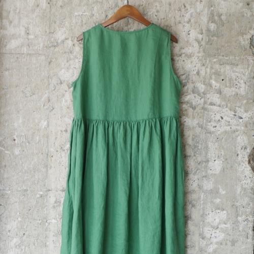 linen sleeveless dress !_e0247148_17323759.jpg