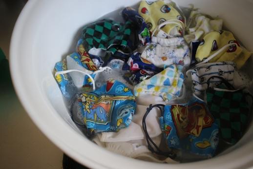 マスクの煮洗い_d0291758_1537728.jpg